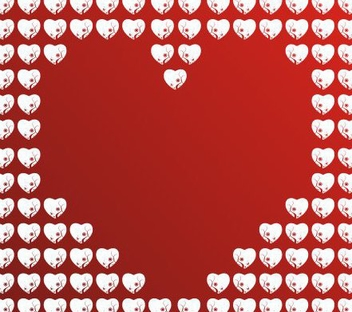 Heart of hearts - vector #219941 gratis