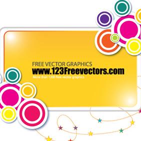 Funky Banner Vector - vector gratuit #220391