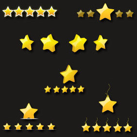 Star Icons - Free vector #220541