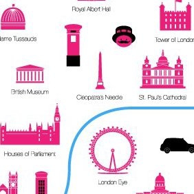 London - vector gratuit #220691