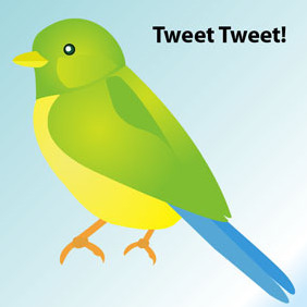 Simple Bird - Free vector #220721
