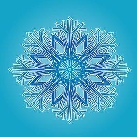 Blue Ornament - бесплатный vector #220881