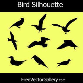 Bird Silhouettes - vector gratuit(e) #220961