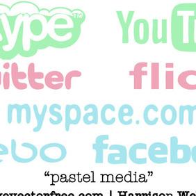 Pastel Media - Free vector #221001