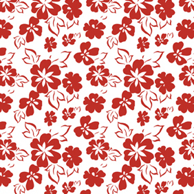 Seamless Flower Patterns - vector gratuit #221091