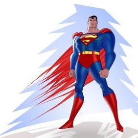 Vector Superman - vector gratuit(e) #221101