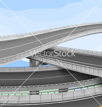 Free motorway vector - vector #221491 gratis
