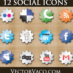 Social Icons - Free vector #221651
