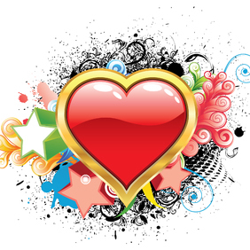 Free Valentine's Day Illustration - Kostenloses vector #221701