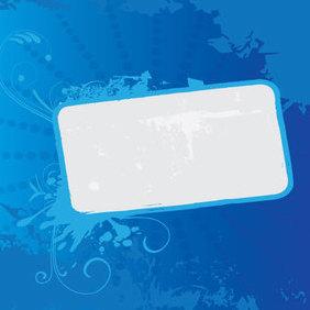 Grunge Blue Banner - Free vector #221771