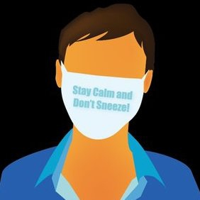 Man In Facial Mask - Free vector #221791