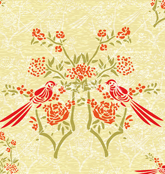 Free abstract floral background vector - Free vector #221981