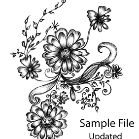 Hand Drawn Decorative-Updated - Free vector #222551