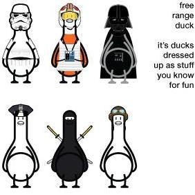 Free Range Duck - Kostenloses vector #223301
