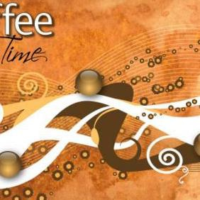 Coffee Time - vector gratuit #223341