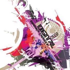 Digital City Vol 1 - vector gratuit #223391
