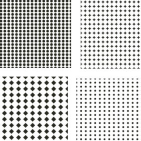 5 Seamless Vector Patterns - Free vector #223971
