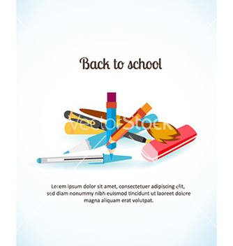 Free back to school vector - Kostenloses vector #224471
