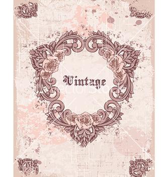 Free vintage frame vector - Free vector #224661