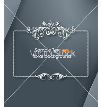 Free floral frame vector - Kostenloses vector #225211