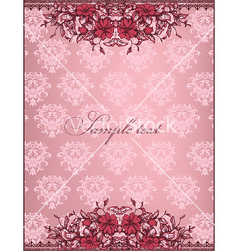 Free vintage floral background vector - Kostenloses vector #225641