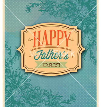 Free fathers day vector - Free vector #225811
