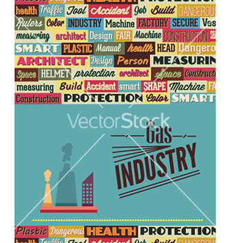 Free with industrial typography elements vector - Free vector #225871