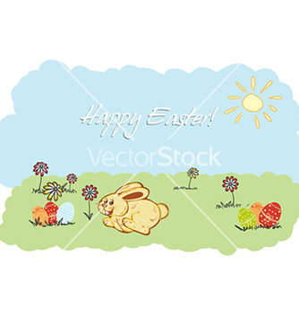 Free happy bunny vector - Free vector #226441