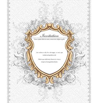 Free vintage floral frame vector - Free vector #226521