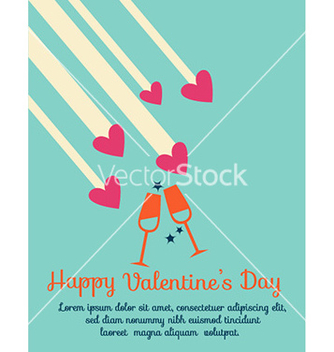 Free happy valentines day vector - Free vector #226631