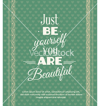 Free with fashion typography vector - Free vector #226881