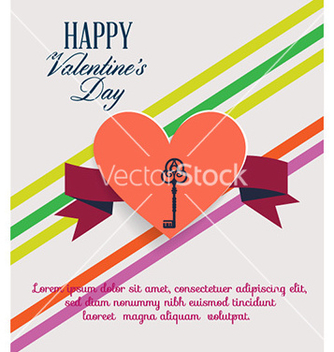 Free happy valentines day vector - vector #227221 gratis