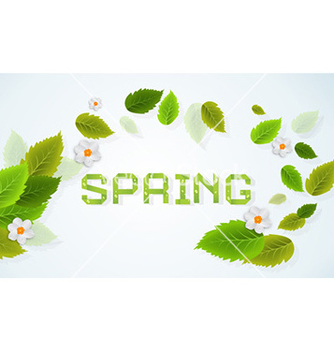 Free spring background vector - Kostenloses vector #227441