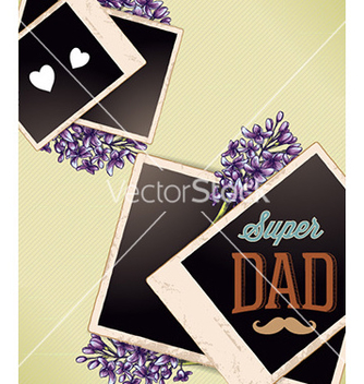 Free fathers day vector - Free vector #227531
