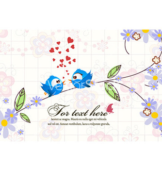 Free floral background vector - Kostenloses vector #227841