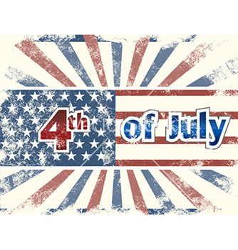 Free 4th of july background vector - Free vector #227851