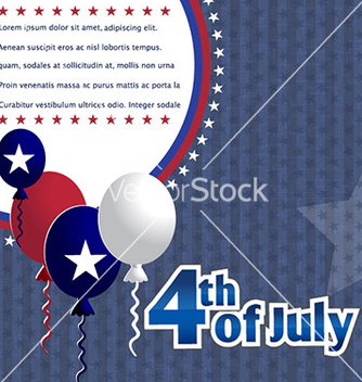 Free 4th of july background vector - Free vector #227971