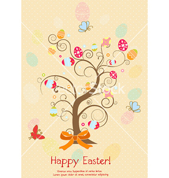 Free easter background vector - Free vector #228151