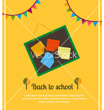 Free back to school vector - Kostenloses vector #228211