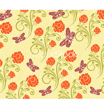 Free abstract floral background vector - Free vector #228351