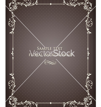 Free floral frame vector - Kostenloses vector #228711
