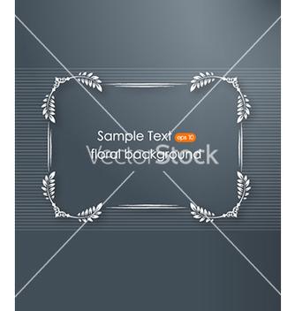Free floral frame vector - Kostenloses vector #228881