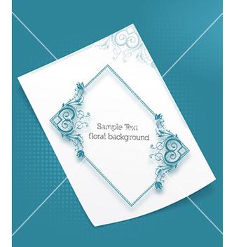 Free floral frame vector - Kostenloses vector #229101