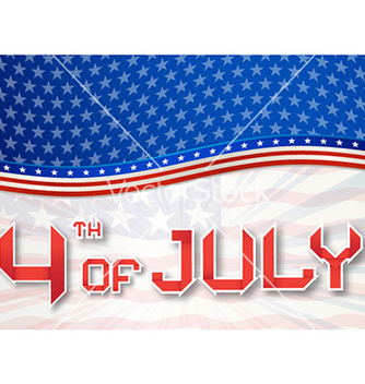 Free 4th of july independence day background vector - Kostenloses vector #229181