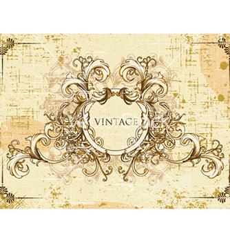 Free vintage frame vector - Free vector #230611