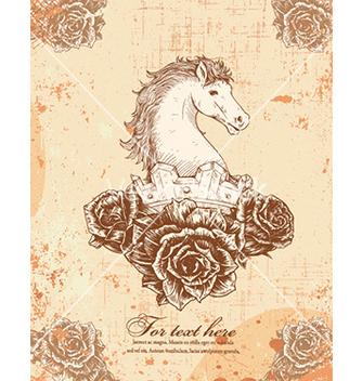 Free vintage horse vector - Free vector #230751