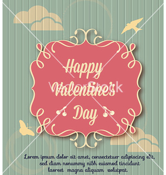Free happy valentines day vector - vector gratuit(e) #231271