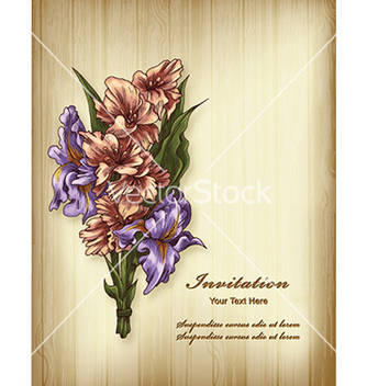 Free floral background vector - Free vector #231361