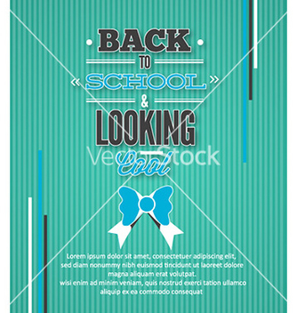 Free back to school vector - Kostenloses vector #231381