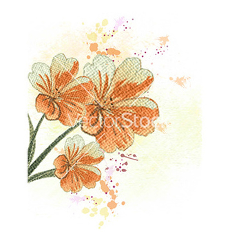 Free colorful floral vector - Free vector #231601